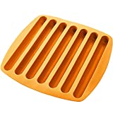 Kitch N' Wares Silicone Ice Cube Sticks Tray - Orange Color - Stick