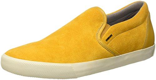 Geox Herren U SMART A Sneaker, Gelb (CURRYC2021), 44 EU