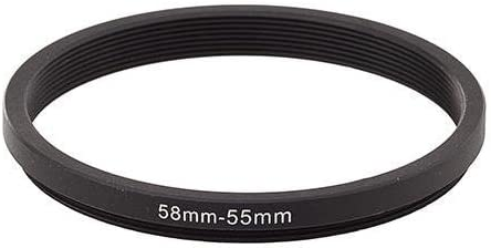 55mm-58mm 55-58 Stepping Ring Filter Ring Adapter Step up