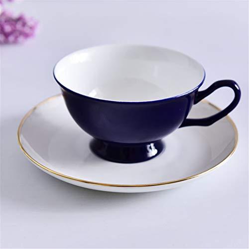 Tasses à thé en Porcelaine café Elegant_RG, gobelets en céramique pour Le thé à la Main en Porcelaine Tasse à la Main Plat Ensembles de café de Mode élégante