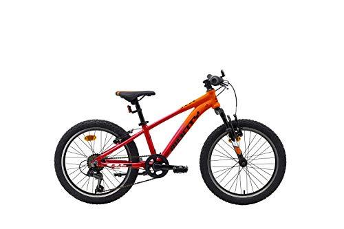 Monty BMX KX5 20' Rojo Naranja