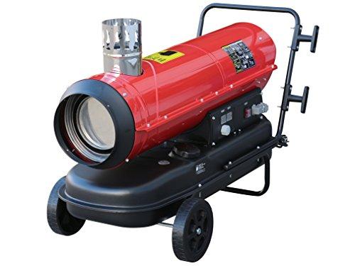 Rotek Öl-Indirektheizer 30 kW mit Kaminanschluss und eingebautem Thermostat, HOI-30-230-TI