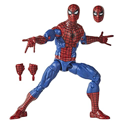 Hasbro Marvel Legends Series E9317 Marvel Legends Series (Action Figure 15 cm, Collezione Vintage di Spider-Man)