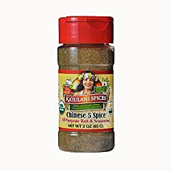 Chinese Five Spice Rub & Seasoning - With Organic Ingredients, No Gluten, No Nuts