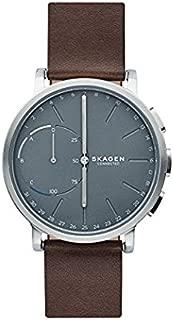 Skagen Men's 42mm Connected Hybrid Leather Smart Watch