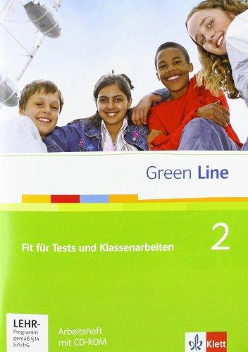 Green Line 2: Fit für Tests und Klassenarbeiten 2, Arbeitsheft und CD-ROM mit Lösungsheft Klasse 6 (Green Line. Bundesausgabe ab 2006)