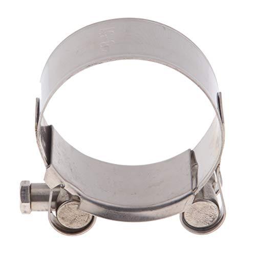 Perfeclan 1 Stück Auspuffschelle Abgasrohrleitungen Schalldämpfer 40-43 mm; 44-47 mm; 48-51 mm; 52-55mm - 48-51mm