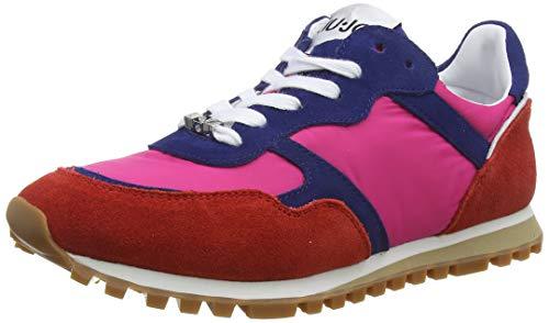 Liu Jo Shoes Alexa-Running, Scarpe da Ginnastica Basse Donna, Multicolore (Rouge/Cobalt/Fuxia S17b3), 38 EU