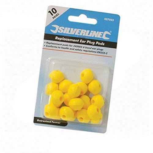 Silverline, Capsule di ricambio per tappi auricolari