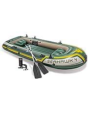 Intex 68351NP zestaw 4 łodzi, wielokolorowy, 351 x 145 x 48 cm / 4 części