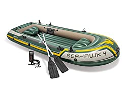 Best Inflatable Fishing Boats - Intex Seahawk Inflatable Boat Series