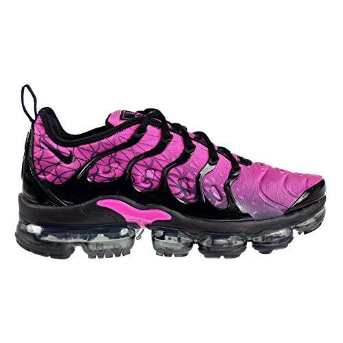 Price comparison product image Nike Men's Air Vapormax Plus Active Fuchsia / Black Mesh Running Shoes 9 M US
