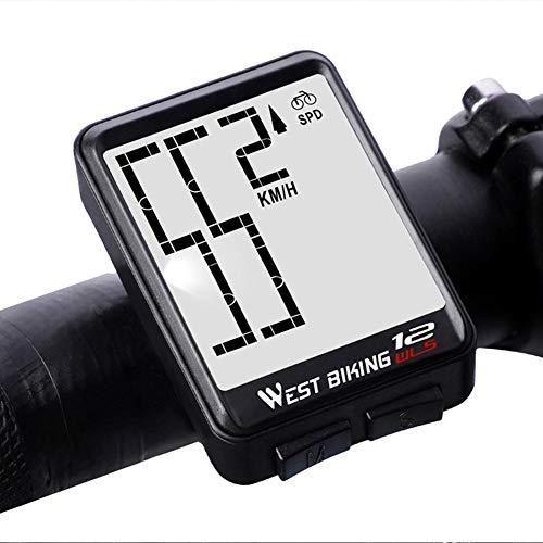 Nuevo modo de pantalla a prueba de agua táctil inalámbrico bicicleta computadora...