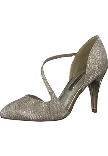 Tamaris Damen Pumps Gold, Schuhgröße:EUR 41