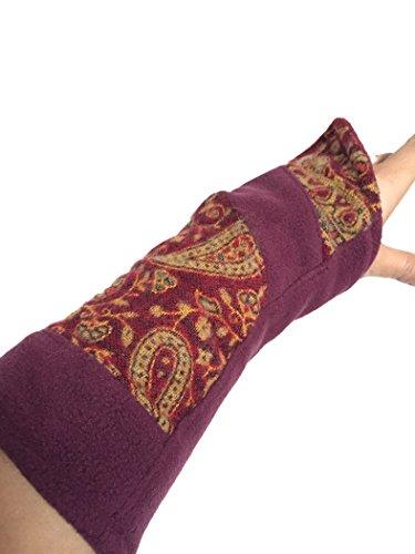 Gekko Damen Armwärmer, pflaume (Violett) - FSWWOS