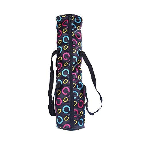 Forfar Carrier Bolsa para esterilla de yoga, correa portátil, organizador de ejercicio, mochila