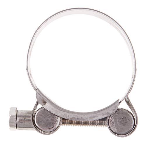 perfk Motorrad Schalldämpfer Roller Schalldämpfer Auspuffschelle Auspuff Schlauchschelle - 40-43mm