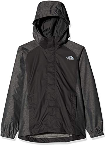 THE NORTH FACE Jungen Resolve Reflective Jacke, Graphite Grey, XS
