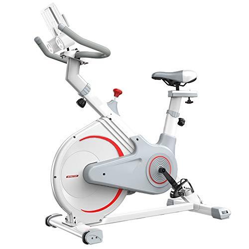 XJWWW-URG Ciclismo Indoor bicicleta estacionaria, cubierta de bicicleta de ejercicios, ciclo de la bici con cojín cómodo de los asientos, asiento ajustable y el manillar, for el hogar Cardio Workout X