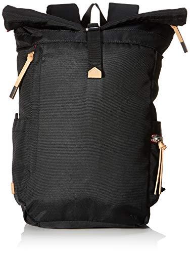 Esprit Accessoires Damen Izumi Backpack Rucksackhandtasche, Schwarz (Black), 13x36x25 cm