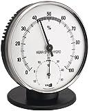 TFA Dostmann Analoges Thermo-Hygrometer, 45.2032, zur Temperatur- und Luftfeuchtigkeitskontrolle