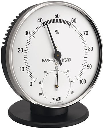 Thermometer Hygrometer Messgerät Haar-Hygrometer