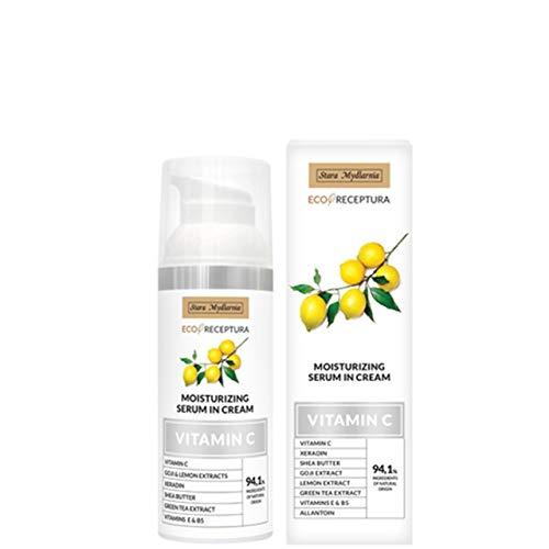 Vitamin C serum in cream