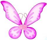 Hot Pink Pixie Fairy Wings Tinkerbell Princess Tutu Dress up Costume