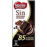 Nestlé Chocolate Negro 85% Cacao Sin Azúcares Añadidos 125 g