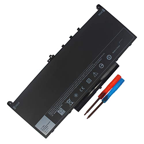 55WH J60J5 E7470 E7270 Laptop Battery Compatible with Dell Latitude E7270 7270 P26S001 E7470 7470 P61G001 Notebook R1V85 MC34Y 242WD PDNM2 GG4FM WYWJ2 1W2Y2 451-BBSX 451-BBSY 451-BBSU