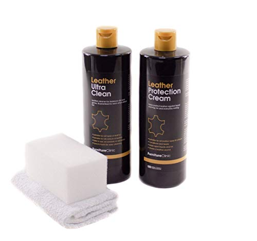 Furniture Clinic Large Leather Care Kit - Includes...