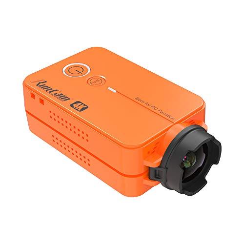 Blueskysea 4K 30Fps Fotocamera 8MP WIFI Videocamera Edition FPV Sports Action Camera 49g Camcorder supporto FOV regolabile, arancione