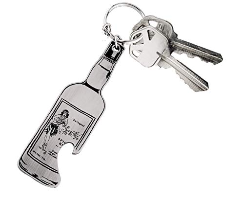 Sailor Jerry Rum Panther & Snake Bottle Opener & Key Ring - Stainless Steel by Sailor Jerry