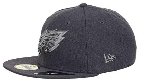 New Era 59Fifty Cap - GRAPHITE Philadelphia Eagles - 6 7/8