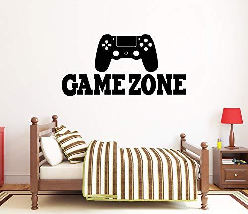 Gamer Wandtattoo Videospiele Wandaufkleber PlayStation PS4 Controller Wandtattoo Spielzimmer Wandkunst vg073