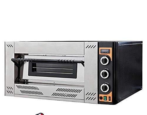 Forno pizza a gas camera singola per 4 pizze cm.30