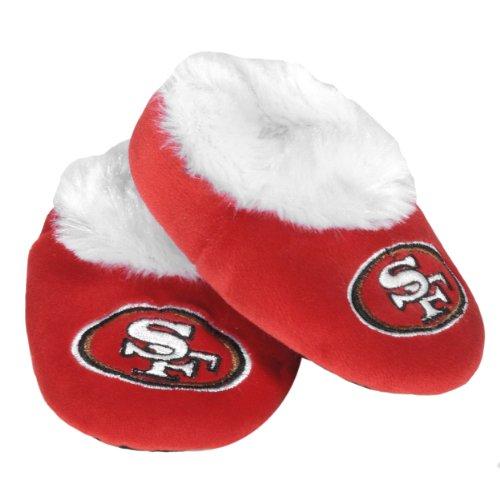 San Francisco 49ers Logo Baby Bootie Slipper Medium