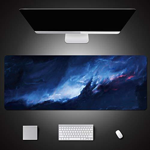 700x300mm XL Alfombrilla de ratón de gran tamaño Antideslizante PC de goma...
