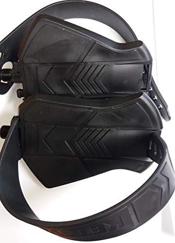 Kettler pedalen links en rechts hometrainer ergometer SP-244 1 K zwart met riem