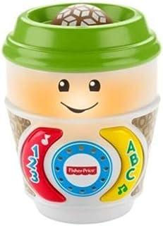 ماتل GHL98 لعبة كوب القهوة فيشر برايس لاف اند ليرن اون ذا جلو ، عمر 6-36 شهر