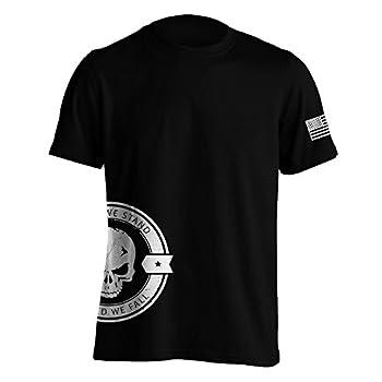 United We Stand Military Sniper Skull T-Shirt X-Large Black