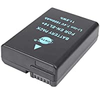 DSTE® アクセサリ Nikon EN-EL14 EN-EL14A 互換 カメラ バッテリー 対応機種 D3100 D3200 D3300 D5100 D5200 D5300 D5500 [並行輸入品]