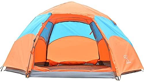 SHWYSHOP Tiendas de campaña para acampar Tienda de campaña Mochilero Tiendas para Senderismo Viajes al aire libre Playa Mochila Pesca (Color: Naranja,