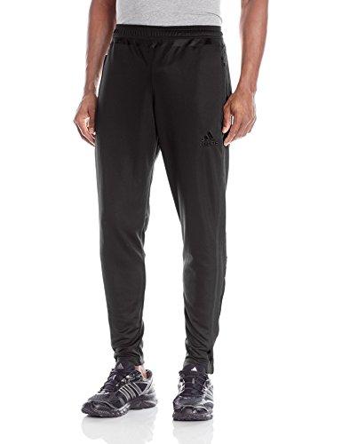 adidas Men's Tiro 15 Training Pants, Black/White/Black, Small