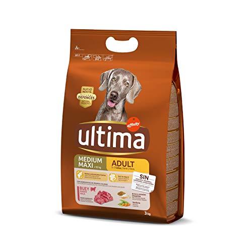 Ultima Cibo per Cani Medium Maxi Adulti con Manzo - 3 kg