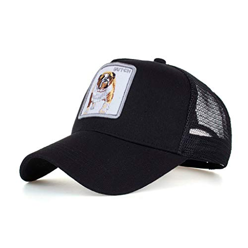 Modaworld Cappellino Estivo Ricamato Cappelli a Rete per Uomo Donna Traspirante Cappello Casuali Hip Hop Hat da Baseball