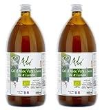 Pur Aloe Vera Pur Gel de bebida puro 1000 ml – Lote de 2