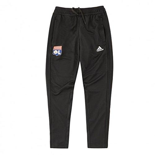 adidas Kinder Olympique Lyonnais Downtime Hose M schwarz/weiß