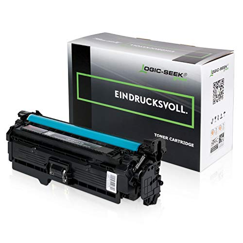 Original Logic-Seek Green Toner kompatibel zu HP CE400X Laserjet Enterprise 500 Color M551 M575 M577