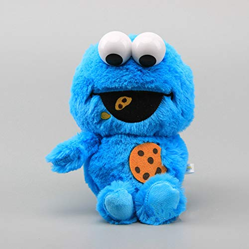 qwermz Weiches Spielzeug - 23cm Sesam-keks-Mit Plastikaugen Gefüllte Puppen Kindergeburtstag